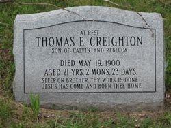 Thomas E. Creighton (1879-1900)