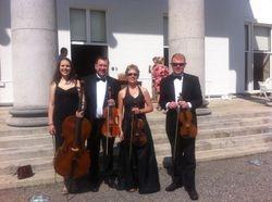 The String Quartet at Aras an Uachtarain