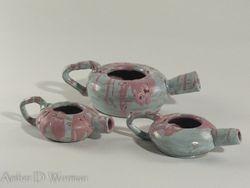 Ceramic Teapot Vases
