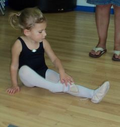 Avery Our Little Ballerina!