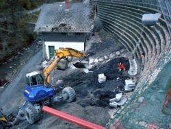 Bauarbeiten im kritischen Profil 46