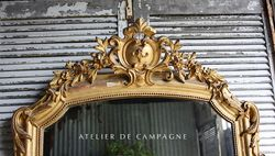 #25/254 MIRROR LOUIS XV AVIGNON DETAIL