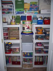 Our Toy Closet