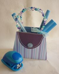 Purse/Handbag Gift Box Template