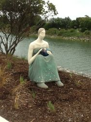 Matai Sculpture,' Santuary'