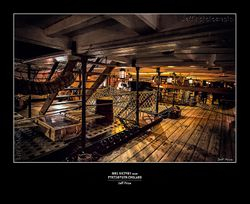 HMS Victory inside-Portsmouth-England