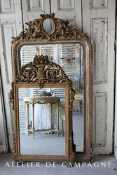 Vignette Mirrors Doré