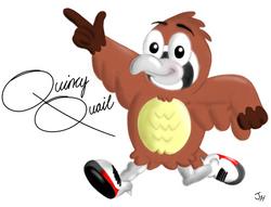 Quincy Quail Running