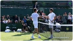 Tomas Berdych and Taylor Fritz