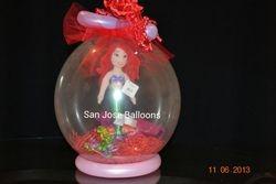 Basic Ariel Keepsake in a Balloon