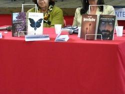 I quattro libri della presentazione, dello scrittore e altri tre colleghi