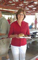 Nancy Dunn graciously hosted the picnic
