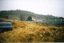 2002 Two WLA Harley's leaving