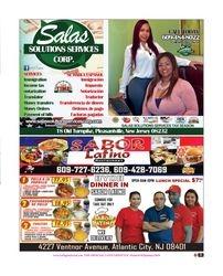 ANA SALAS / SABOR LATINO  (The Society Page en Espanol)