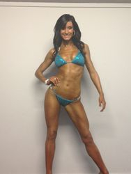 Olivia Wordsworth Bikini Class NZIFBB Akld Champs Aug 2012