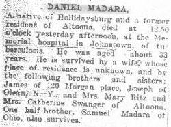 Madara, Daniel 1906