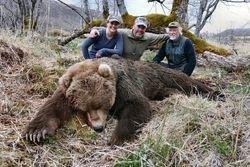 McKenzie Karl and Matt with matt's bear