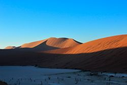 Dead Vlei at sunrise