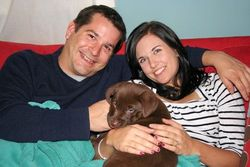 Godiva with her new family