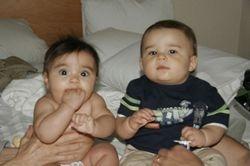 Jack and cousin Sanna