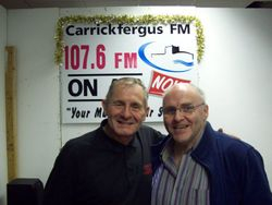 Donagh with Tony Jones from African Child Ministries