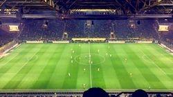 Halfway Line seats at Dortmund Game