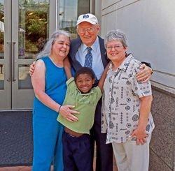 Kathy Whitehead and family