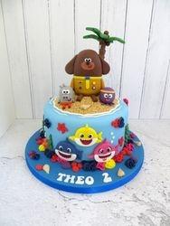 Theo's 2nd Birthday Cake
