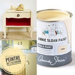 Cream Chalk Paint Annie Sloan