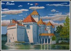 Honorable Mention, George Dumandan (Chillon Castle)