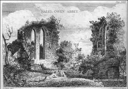 Halesowen Abbey Ruins.
