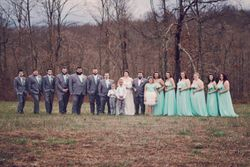 Will & Bethany - Wedding Party