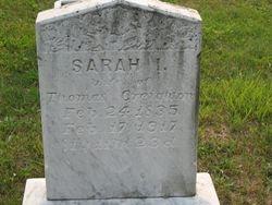 Sarah I. (Magill) Creighton (1835-1917)