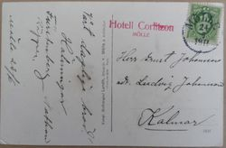 Hotell Corfitzon 1917