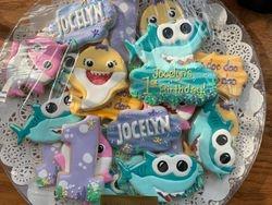 Baby Shark Girl's Birthday