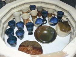 ~Opening the Glaze Kiln~
