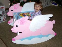 Faith the Flying Pig
