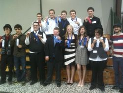 ACSI District Meet Winners