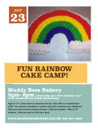 July 23 Cake Class