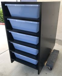 V70 tub Rack Black/Black