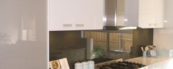 The glass splashbacks are manufactured individually for each customer, so they are unique.