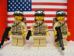 U.S. Army Desert MP's