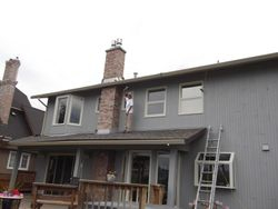 (Exterior residential painting)