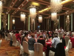Course dinner, Lake View Hotel, Beijing