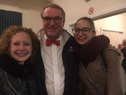Cara Gilberton-Boese, Henk Huizenga and Aude Urbancic