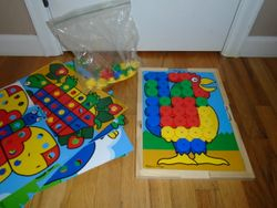 Melissa & Doug Sort and Snap Color Match - Sorting and Patterns Toy - $10