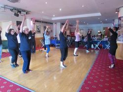 Love to Dance Taster Session at the Ageing Well Exhibition