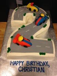 Race Track Cake!