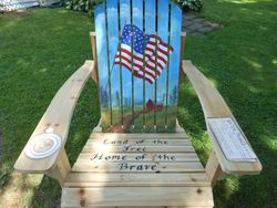 USA Tribute Chair