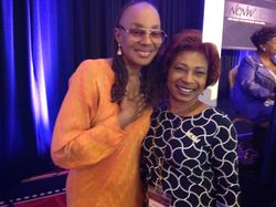 Former Essence Editor, Susan Taylor and Section President